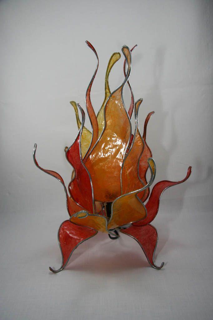Lámpara Cristalizada