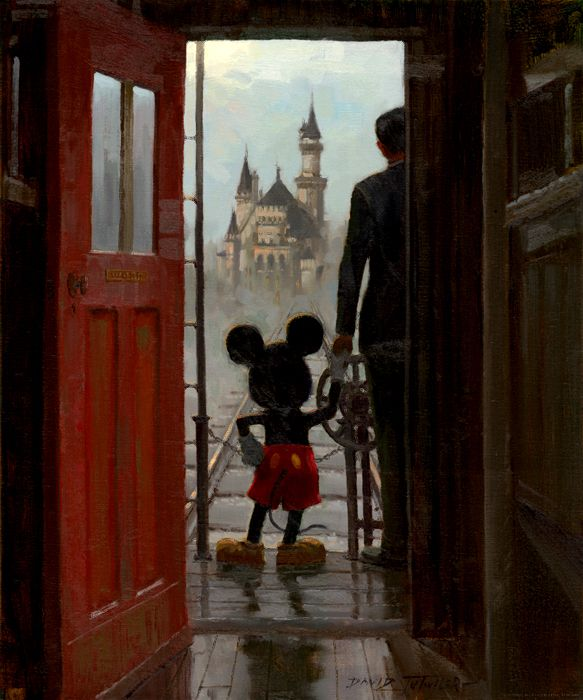 Walt and Mickey.