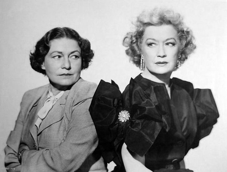 Thelma Ritter & Miriam Hopkins From THE MATING GAME (1951)