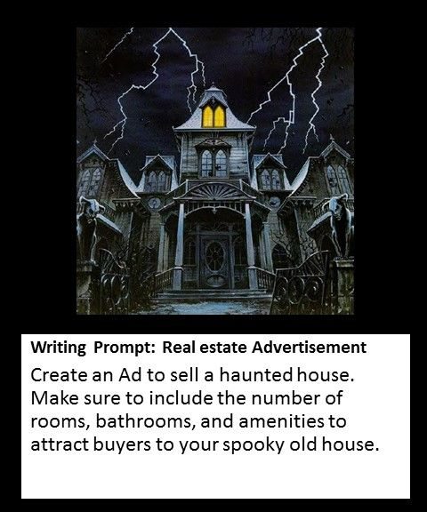 Create an advertisement for a Haunted House