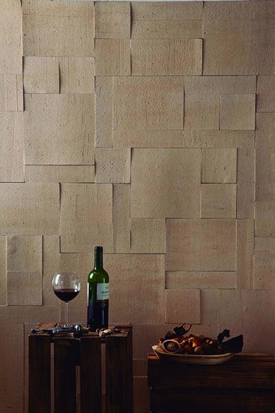 Linha brick quebratto revestimento cer mico com bordas for Como alisar paredes irregulares