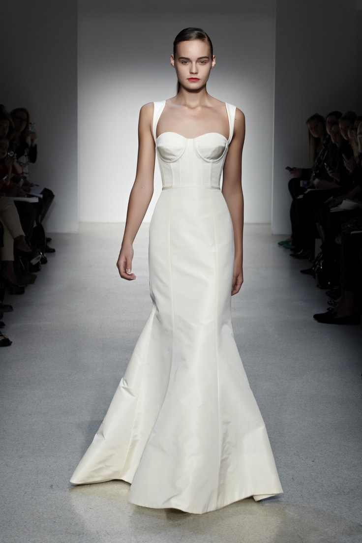 12 best fall 2013 wedding dresses images on pinterest for Amsale aberra wedding dresses