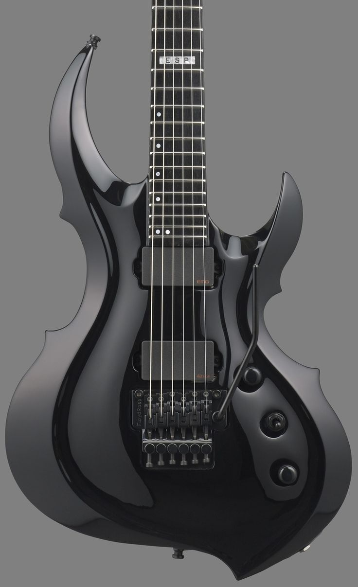 Im Batman! GuitarQueue - 2014 ESP E-II FRX Black Electric Guitar, (http://guitarqueue.com/2014-esp-e-ii-frx-black-electric-guitar/)