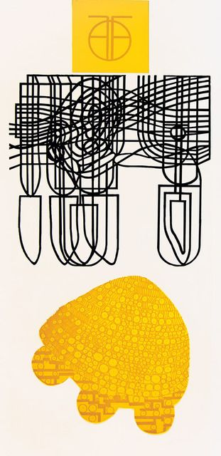 Marika Mäkelä, 'Structures,' 2014, Himmelblau Printmaking Finland