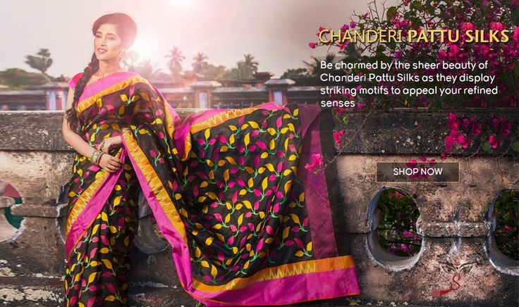 Situated in Madhya Pradesh, the heart of India, Chanderi is the heartland of handloom weaving in India.