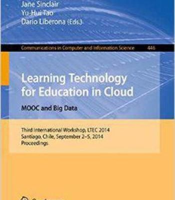 Learning Technology For Education In Cloud PDF