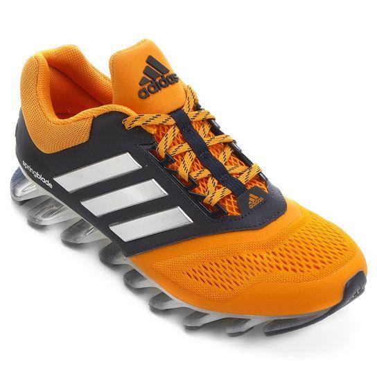 Tênis Adidas Springblade 2 - Laranja+Preto