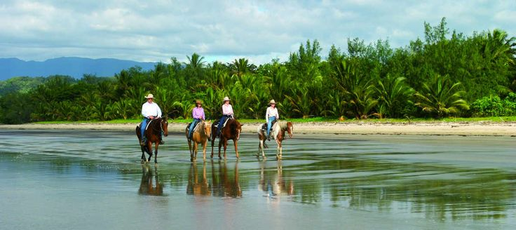 You can also horse ride on this beautiful location...
