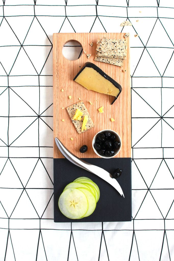 Fashion for food. Modern, stylish and sophisticated. Black is indeed the new black. www.houtenplank.com.au