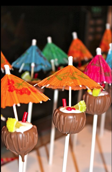 hawaiian cake pops