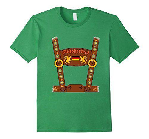 German Lederhosen Oktoberfest Costume Funny T-Shirt
