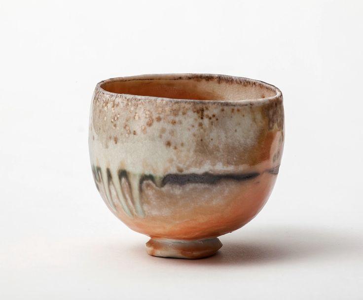 Priscilla Mouritzen - pinched porcelain bowl 9cm high x 10cm wide