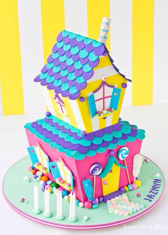 Bolo Casa de doces