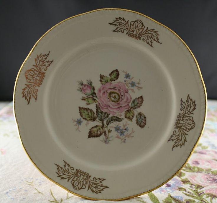 Queen Esther Salad Plate - Homer Laughlin