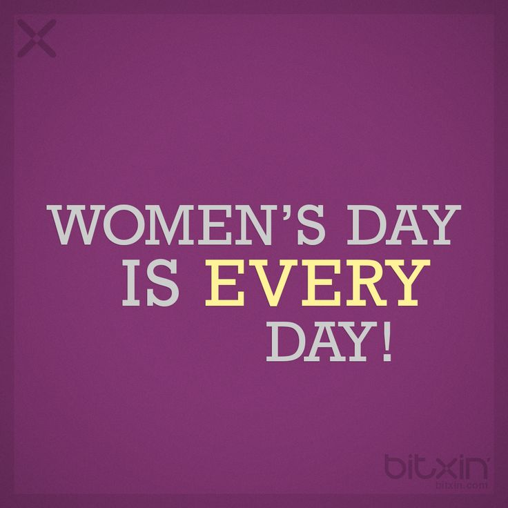 Women's Day - bitxin' #womansday #WomansDay2014