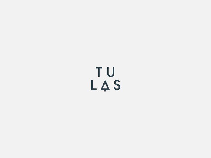 Identyfikacja wizualna. TU LAS  | logotype, logo. Ortografika.