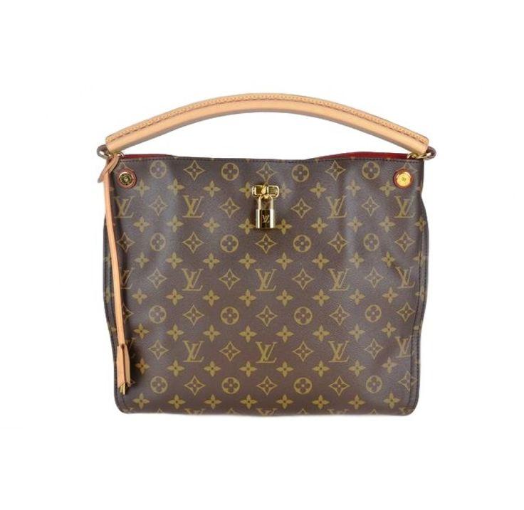 Louis Vuitton Brown Monogram Gaia Shoulder Bag
