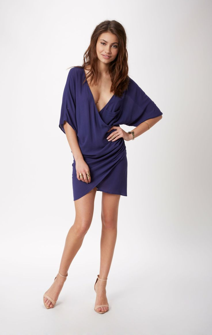 ale by alessandra WRAP OVER DRESS