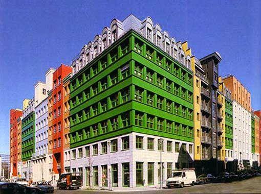 Quartier Schützenstrasse, Berlim, Alemanha, Aldo Rossi, 1998