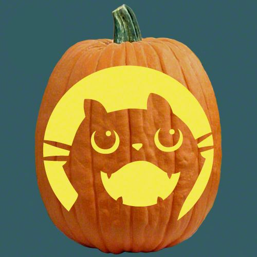 One Of 700 Free Stencils For Pumpkin Carving And More