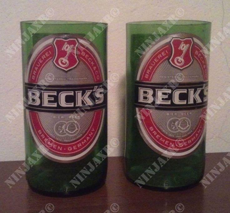 Tumbler da bottiglia di birra Beck's
