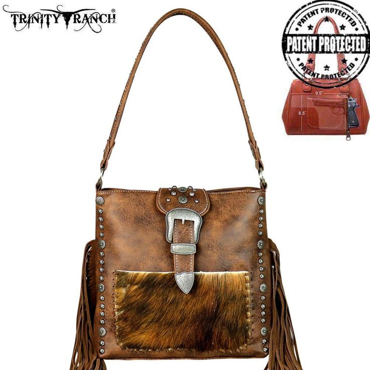 Trinity Ranch Tooled Hair-On Leather Concealed Handgun Collection Hobo Handbag  #knifeset #Knife #cutlery #kitchen #Christmas #gourmet #dining #radacutlery #home #knives