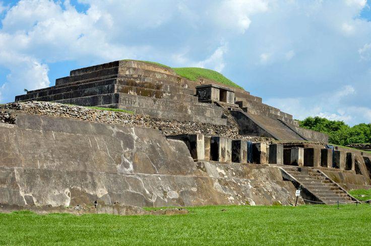 Tazumal archaeological site of Maya civilization in El Salvador