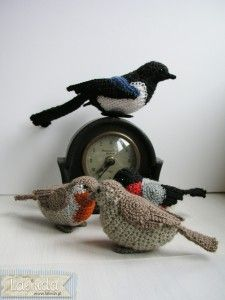 crochetsparrows / robins