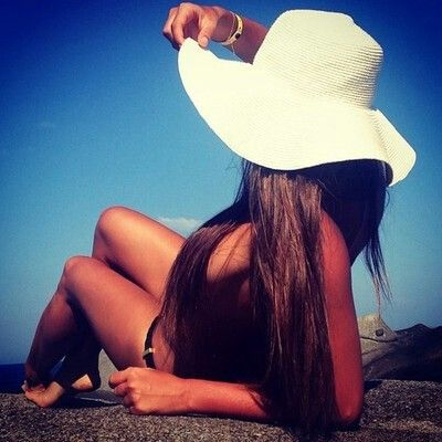 Can hardly wait to wear my oversized black sun hat!