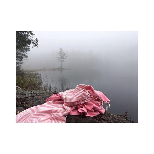 Morgenstemning i skogen... Takk for bildet @aneeide!😍🌤🍾🐐⛺🏕🏞💗🌲🦆🌾_______________________________________________________ #pestemalNo #morningview #pestemal #instagood #fresh #water #moment #towel #traveltowel #inspirasjon #outdoorliving