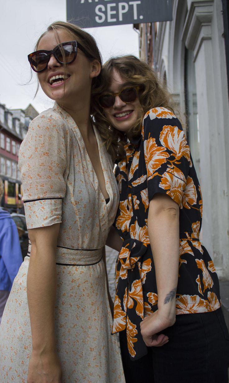 Ganni street style | Isabell Röden | Vlermont Georgette Wrap Dress