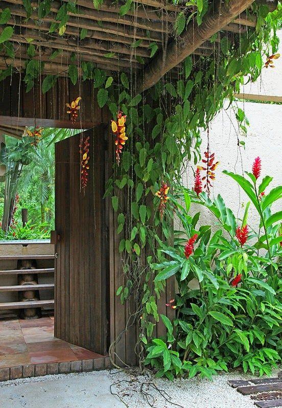 25 melhores ideias sobre cercas de jardim no pinterest for Decoracion casa judia