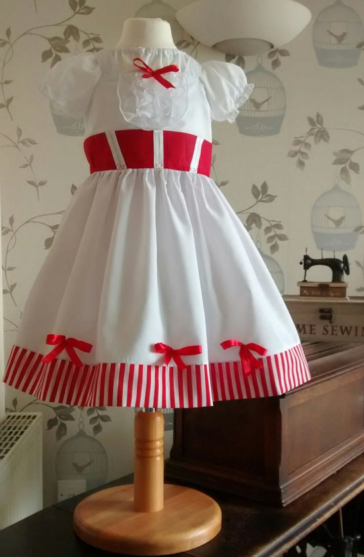 MARY POPPINS Jolly Holiday dress by KiddiDreamBoutique on Etsy, £28.00