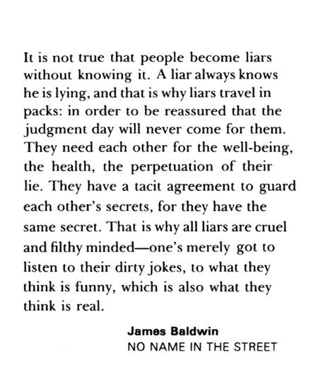 No Name in the Street - James Baldwin