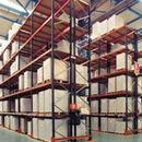 """Interlake Mecalux Pallet Rack for sale! Largest manufacturer of storage racks in the Americas. """"Our breadth of quality products and reputation for timely delivery and accurate execution have made us the premier supplier of innovative storage systems in the industry."""" #interlakemecalux #materialhandling #palletrack"""