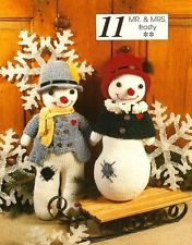 Primitive Homemade Snowman Crafts | eHow