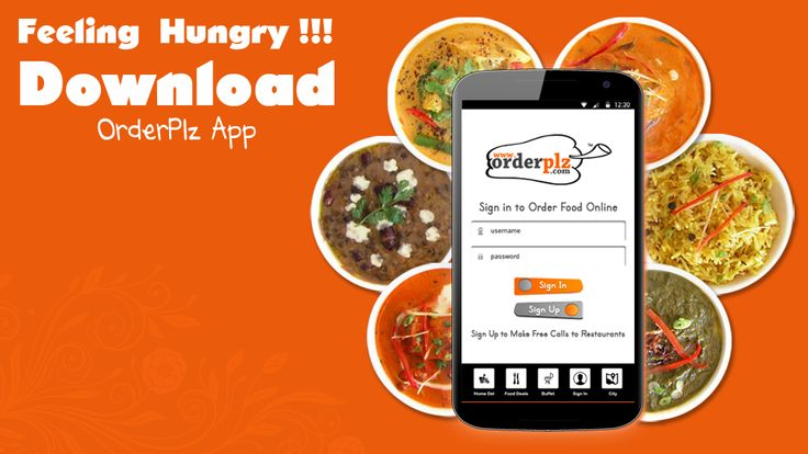 Download ORDERPLZ APP Food Delivery Made Easy!