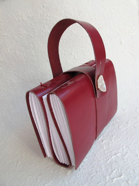 4x6 Multi Section Journal/Sketchbook - Three Volumes - 300 pages - Ruby Red***A DOS-A-DOS-A-DOS BOOK