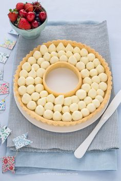 Crostata con namelaka al limone | Chiarapassion