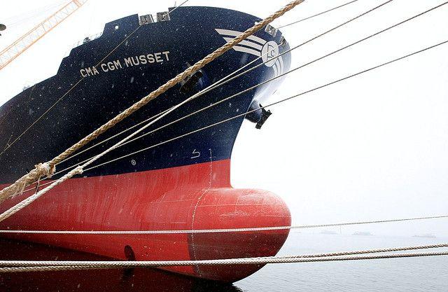 Sungdong Shipyards South Korea Container Vessel CMA CGM Mussete