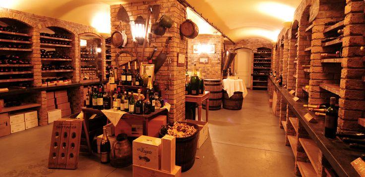 Wine Cellar at Sheen Falls Lodge