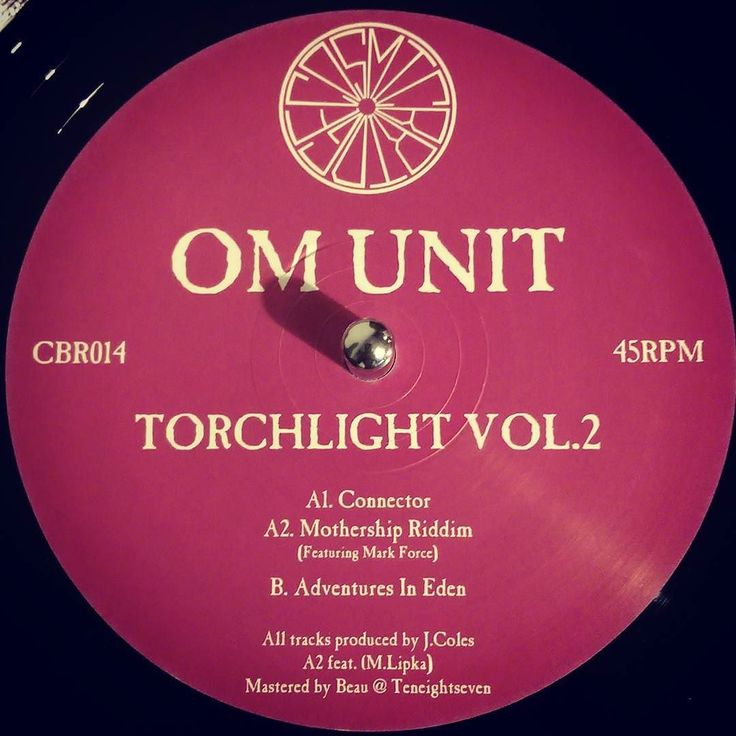 #nowspinning Om Unit - Adventures In Eden (Torchlight Vol.2). Cosmic Bridge: CBR014 (2016). Hot of the press last week. What a 12. Usual high end quality from Om Unit. Both this and Vol.1 are brilliant works of brilliance. Stuff gets experimental in places but it's good to be lead down some different paths. Eden is a real atmospheric roller. The intro goes on for an age and really works as a track on its own. Hold it down though as the drop is a beaut. Head nods and vibes a plenty. #dnb…