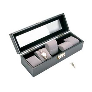 (5) Leather Watch Box $29.95/each