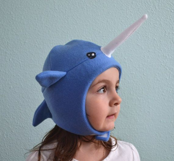 This narwhal winter hat. | 33 Things Every Narwhal Lover Needs In Their Home