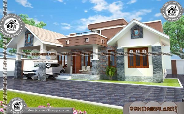 Simple 1 Story House Plans 80 Modern Contemporary Interior Design Kerala House Design Simple House Design Contemporary House Plans
