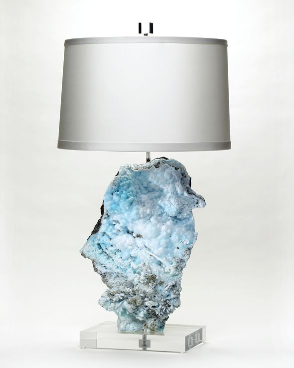 Amazing Mineral Lamp     via | TheCoolist @ http://www.thecoolist.com/brenda-houston-mineral-lamps/brenda-houston-mineral-lamps_1/