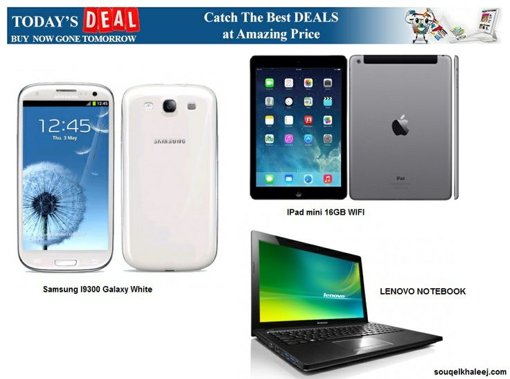 Catch the #BestDeals at Amazing Prices!!! Place Your Order Today!!! http://www.souqelkhaleej.com/index.php/daily-deals