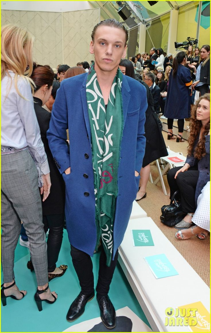 Jamie Campbell Bower is 'So Proud' of Girlfriend Matilda Lowther at Burberry London Show