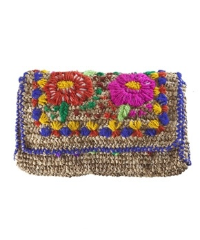 Statement Clutch - Violet Tones of Love by VIDA VIDA Free Shipping Cheapest Price Low Price Fee Shipping Sale Online 0rRjB6Y
