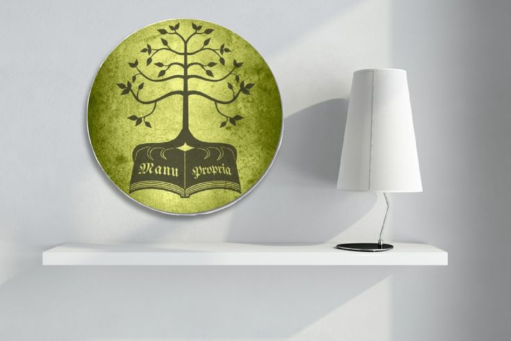 Kinsignia Design printed on a Forex circle